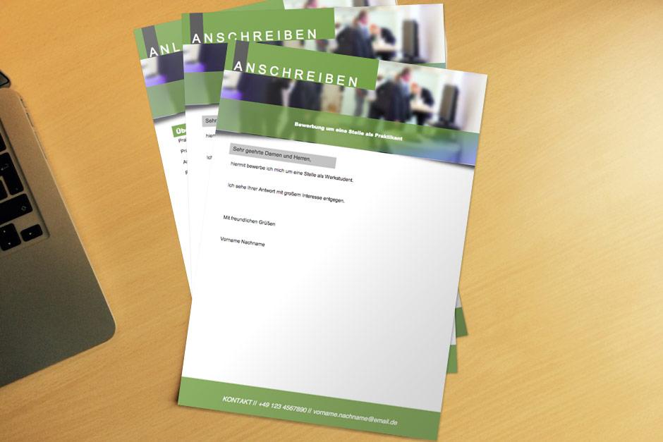 Bewerbungsvorlage Green Flyer Kostenlos Herunterladen