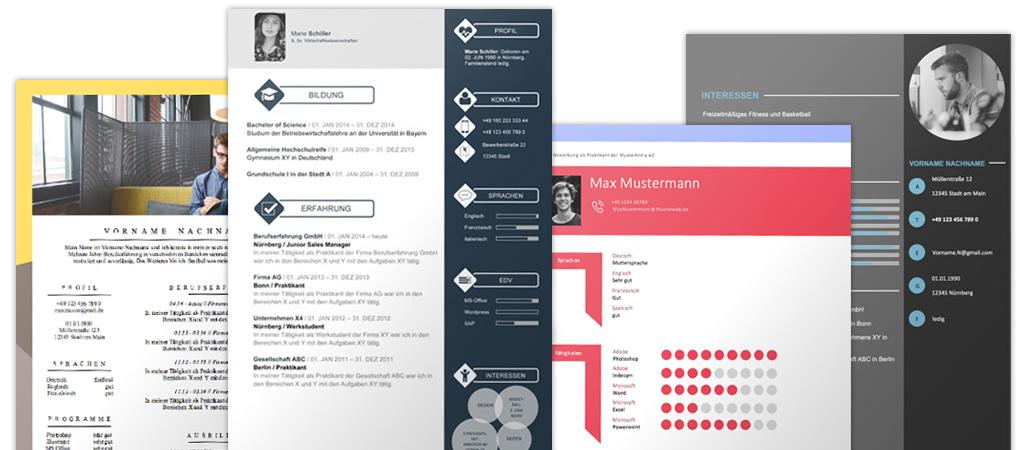bewerbungsvorlagen - Design Bewerbung
