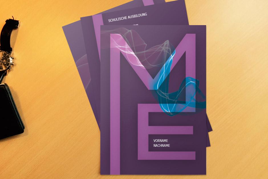 Bewerbungsvorlage ME Purple