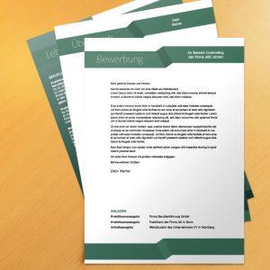 Bewerbungsvorlage Green Ribbon