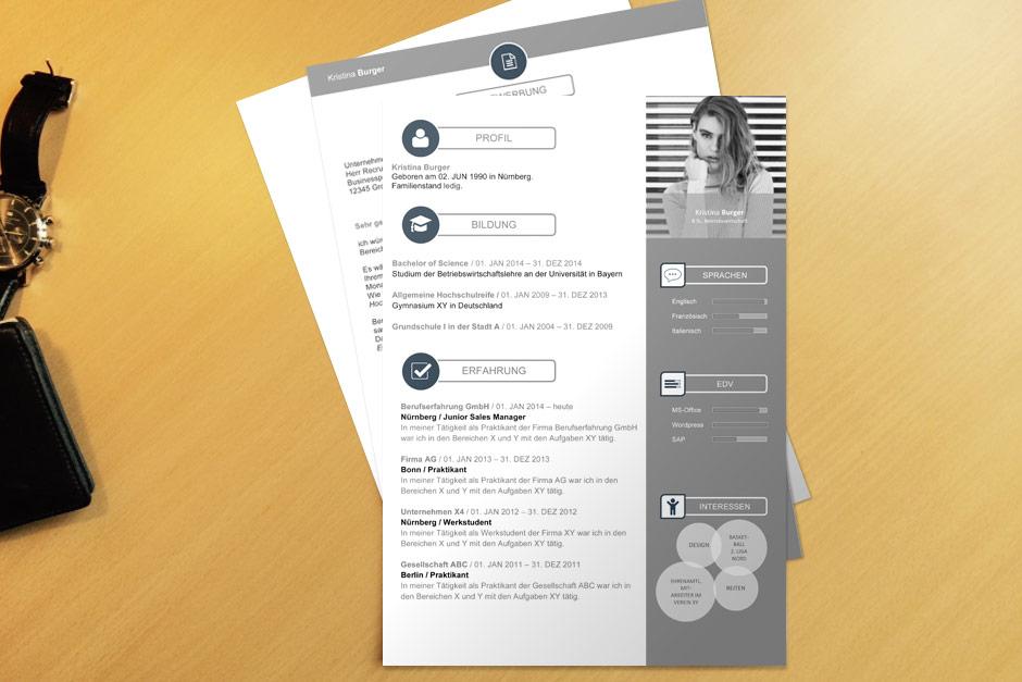 Premium Bewerbungen Kostenlose Kreative Bewerbungsvorlagen